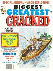 Major Magazines's Biggest Greatest Cracked Issue # 16