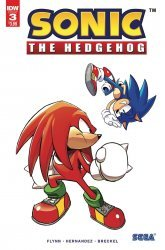 IDW Publishing's Sonic the Hedgehog Issue # 3 - 2nd print