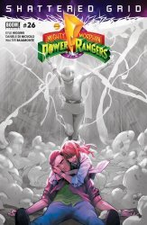 BOOM! Studios's Mighty Morphin Power Rangers Issue # 26 - 2nd print