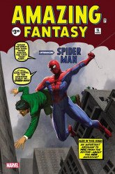 Marvel Comics's Amazing Fantasy Issue # 15facsimile-unknown