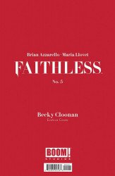 BOOM! Studios's Faithless Issue # 5b