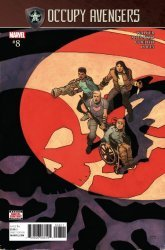 Marvel Comics's Occupy Avengers Issue # 8