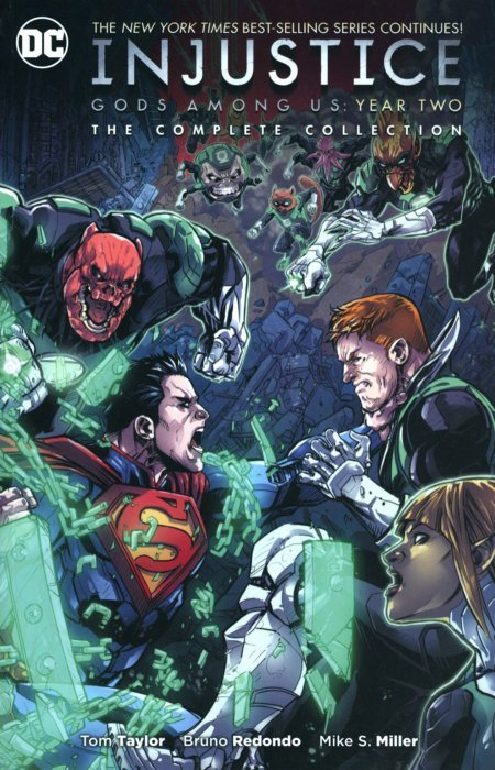 Injustice Gods Among Us Year Two Complete Collection