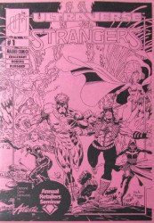 Malibu Comics's The Strangers Issue ashcan