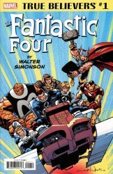 Marvel Comics's True Believers: Fantastic Four - By Walter Simonson  Issue # 1