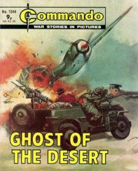 D.C. Thomson & Co.'s Commando: War Stories in Pictures Issue # 1244