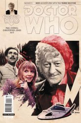 Titan Comics's Doctor Who: 3rd Doctor Issue # 2b