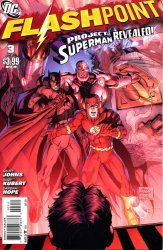 DC Comics's Flashpoint Issue # 3