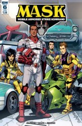 IDW Publishing's M.A.S.K.: Mobile Armored Strike Kommand Issue # 6sub