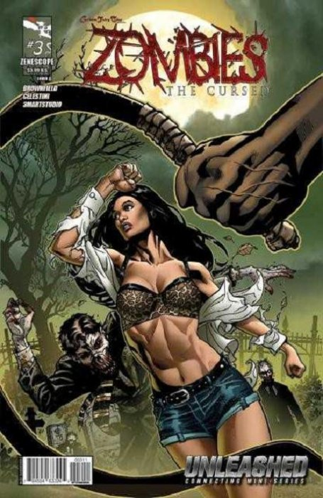 3A cover The Waking #3 ~ Zenescope horror comic