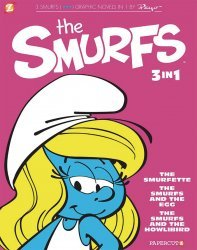 Papercutz's The Smurfs 3-In-1 Soft Cover # 2
