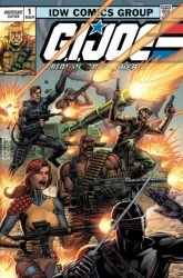 IDW Publishing's G.I. Joe: A Real American Hero - Anniversary Edition Issue # 1