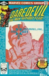 Marvel Comics's Daredevil Issue # 167