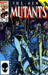 Marvel Comics's The New Mutants Issue # 36