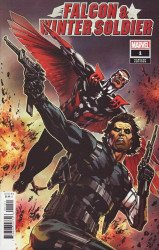 Marvel Comics's Falcon & Winter Soldier Issue # 1b