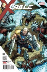 Marvel Comics's Cable Issue # 3