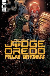 IDW Publishing's Judge Dredd: False Witness Issue # 1ri
