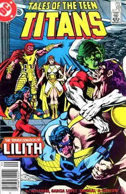 Something Tales of the teen titans shall