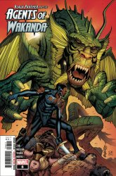 Marvel Comics's Black Panther and the Agents of Wakanda Issue # 8