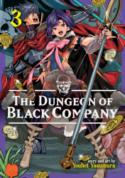 Seven Seas Entertainment's The Dungeon Of Black Company Soft Cover # 3