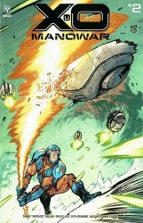Valiant Entertainment's X-O Manowar Issue # 2d