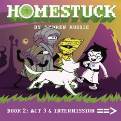 Viz Media's Homestuck Hard Cover # 2