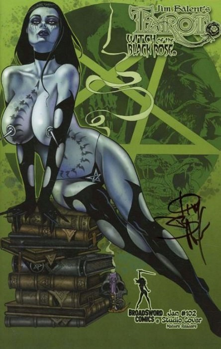 BroadSword Comics TAROT WITCH OF THE BLACK ROSE #76 Studio Cover Variant NM