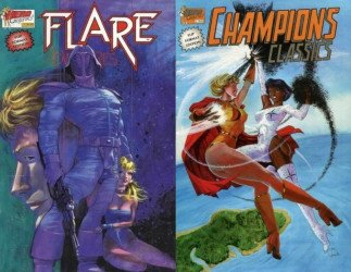 Heroic Publishing, Inc.'s Champions Classics / Flare Adventures Issue # 4