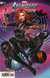 Marvel Comics's Marvels Avenger's Black Widow Issue # 1b