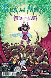 Oni Press's Rick and Morty: Worlds Apart Issue # 3