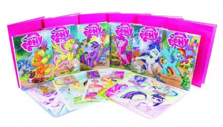 IDW Publishing's My Little Pony: Return of Queen Chrysalis - Red Library Set  Hard Cover # 1