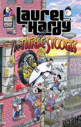 American Mythology's Laurel And Hardy Meet The Three Stooges Issue # 1b