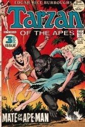 DC Comics's Tarzan Issue # 209