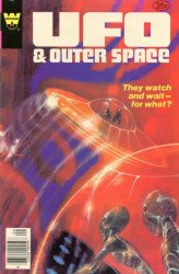 Gold Key's UFO & Outer Space Issue # 17whitman