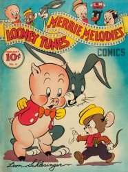 Dell Publishing Co.'s Looney Tunes and Merrie Melodies Comics Issue # 4