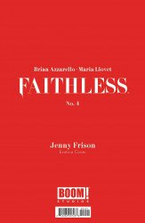BOOM! Studios's Faithless Issue # 4b
