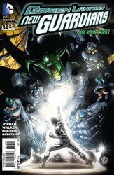 DC Comics's Green Lantern: New Guardians Issue # 34