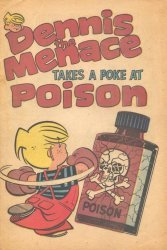 Fawcett Publications's Dennis the Menace: Takes a Poke at Poison Issue # 1972