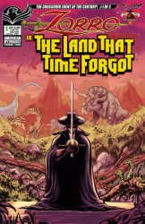 American Mythology's Zorro: In The Land That Time Forgot Issue # 1c