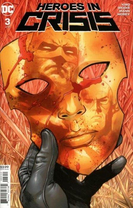 DC, 2019 Heroes In Crisis #4 2nd Printing Variant NM