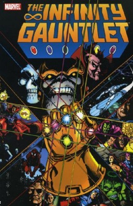 Image result for infinity gauntlet 1991