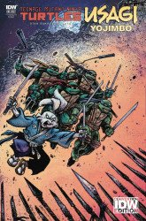 IDW Publishing's Teenage Mutant Ninja Turtles / Usagi Yojimbo Issue # 1convention