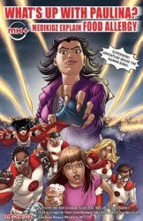 Medikidz Limited's What's Up with Paulina? Medikidz Explain Food Allergy Soft Cover # 1