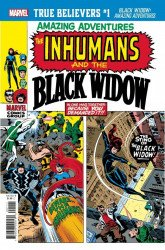 Marvel Comics's True Believers: Black Widow Amazing Adventures  Issue # 1