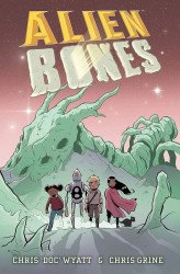 First Comics's Alien Bones Hard Cover # 1