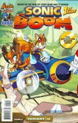 Archie's Sonic Boom Issue # 1b