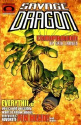 Image Comics's Savage Dragon Companion Issue # 1b