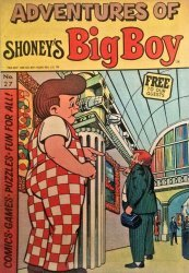 Timely Comics's Adventures of Big Boy Issue # 27