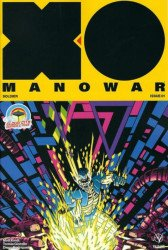 Valiant Entertainment's X-O Manowar Issue # 1cloud city