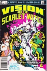 Marvel's Vision and the Scarlet Witch Issue # 2b